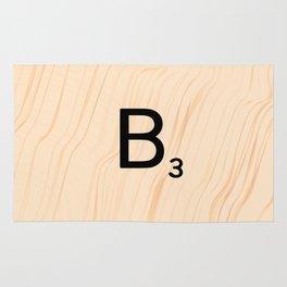Scrabble Letter B - Large Scrabble Tiles Rug