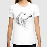 horse T-shirts featuring Horse by eDrawings38