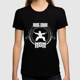 Wing Chun Mom Martial Artist Fight Training T-shirt
