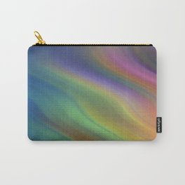 Rainbow Colors of the Night Carry-All Pouch