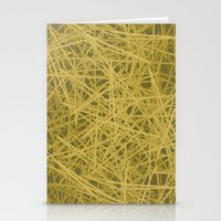 pasta Stationery Cards featuring Spaghetti Pasta by NextExit