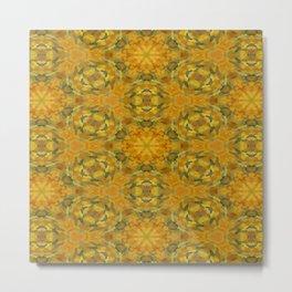 Yellow Sunflower Tapestry #1909 Metal Print