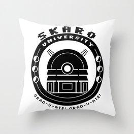 Skaro University Throw Pillow
