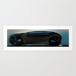 Concept Car Art Print