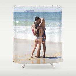 Ipanema Lovers Shower Curtain
