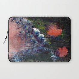 Poppy - Mixed Media Acrylic Abstract Modern Art, 2009 Laptop Sleeve