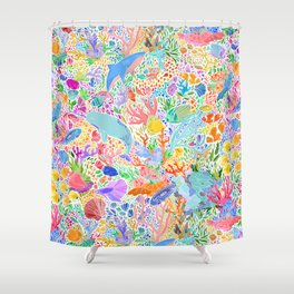A Narwhal of a Time Shower Curtain