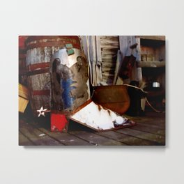 The Cowboy Boot Metal Print