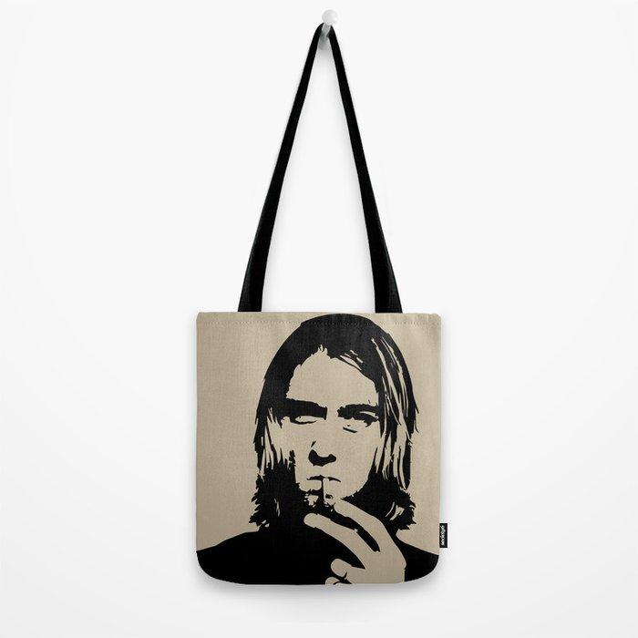 Badass Cobain Tote Bag