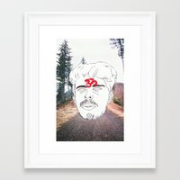 chill Framed Art Prints featuring Chill by Kim Wells