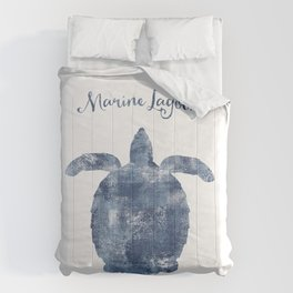 Turtle Marine Lagoon habitat Comforters