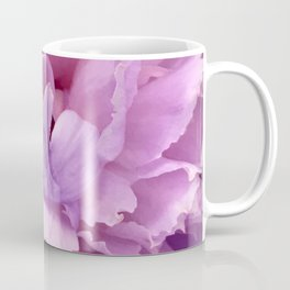 Pretty Pink Peony Macro Photo Coffee Mug