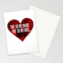 You´re my heart... Stationery Cards