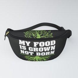 Veganism Gift - Funny Vegan Quote Fanny Pack