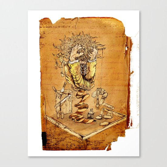 BREAK POINT Canvas Print
