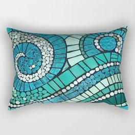 The Dance Mosaic Rectangular Pillow