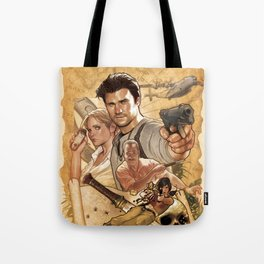 Uncharted Poster Tote Bag