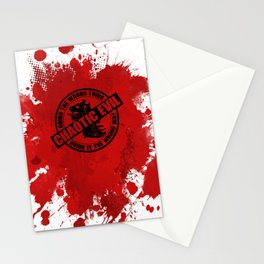 Chaotic Evil RPG Game Alignment Stationery Cards