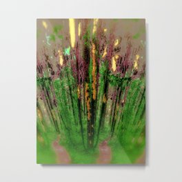 Wax Forest Cathedral Metal Print