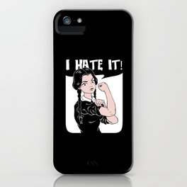 Hate Everything! iPhone Case