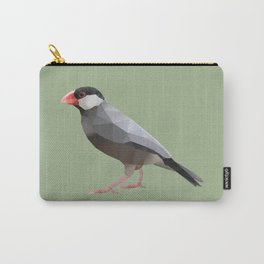 Java Sparrow polygon art Carry-All Pouch