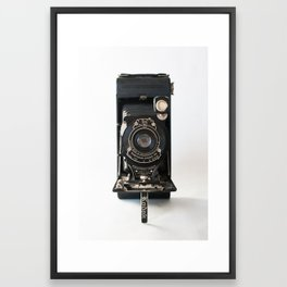 Vintage Camera No 1 Framed Art Print