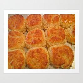 Buttermilk Biscuits Art Print
