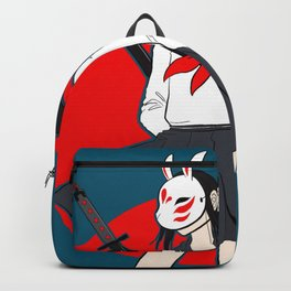 Kitsune Bunny Warrior Backpack