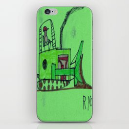 Moving Earth iPhone Skin