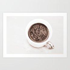 Tea Twigs Art Print