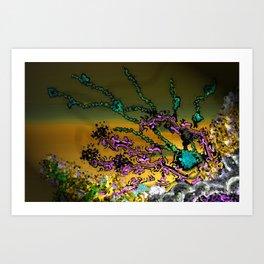 Deep Sea Coral Art Print