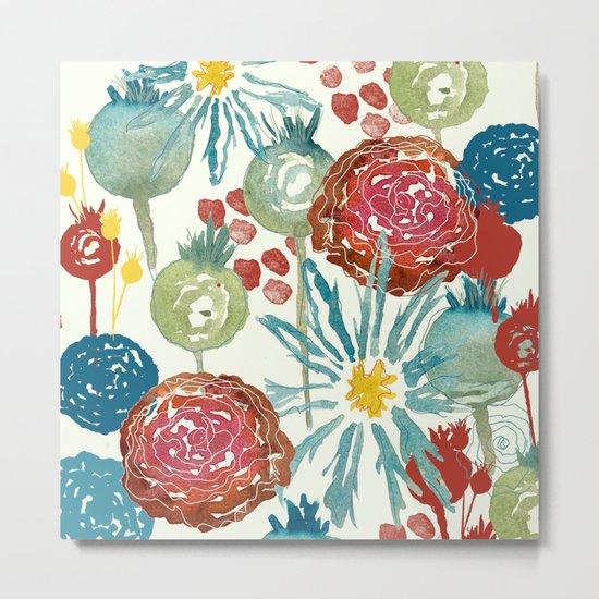 Wildflower Desert Metal Print