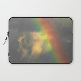 Rainbow spew cloud Laptop Sleeve