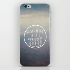 I. Be my captain iPhone & iPod Skin