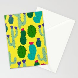 funny cacti Stationery Cards