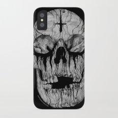 Black blooded Slim Case iPhone X