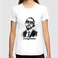 obama T-shirts featuring Obama Swag by mMel