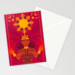 Apolaki: The Philippine Sun God Stationery Cards