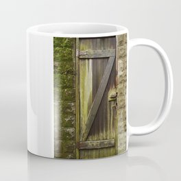 Z. The Old Door. Coffee Mug