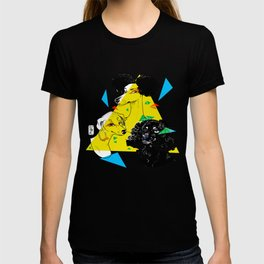 Primary Dogs III - Natural hair T-shirt