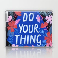 Do Your Thing - Blue Laptop & iPad Skin