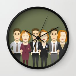 Watching The Detectives #4: Landscape Wall Clock