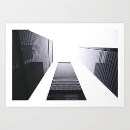 Financial District Art Print