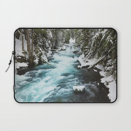 The Wild McKenzie River - Nature Photography Laptop Sleeve