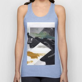 Untitled (Painted Composition 2) Unisex Tank Top