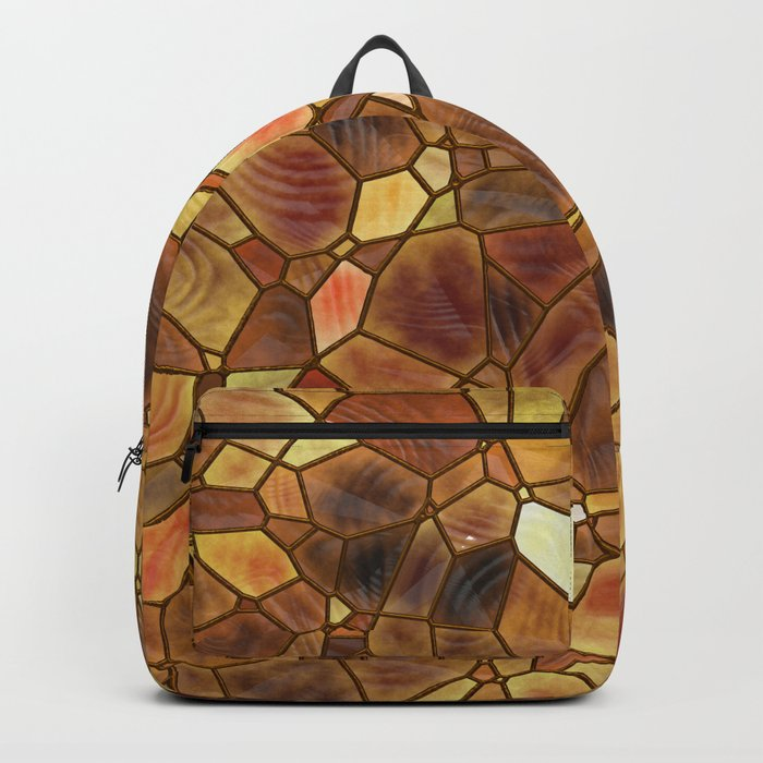 Stained Glass - Copper Backpack
