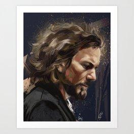 Mr Vedder Art Print