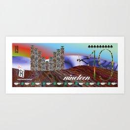 """ The Potash Towers "" Art Print"