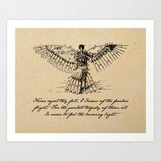 Oscar Wilde - Icarus Art Print