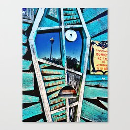 Boardwalk Store Window Canvas Print